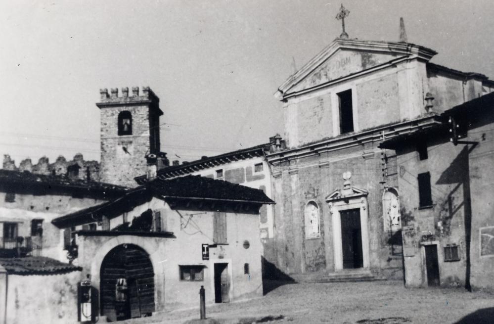 Piazza di Soiano nel passato